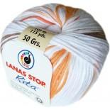 Rita 230 Blanco/Marron