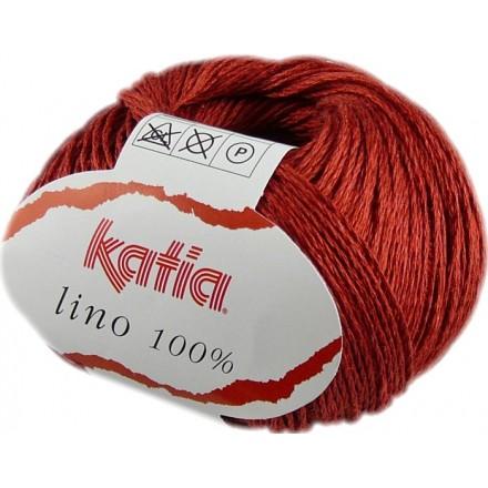 Lino 100% 20 Rojo