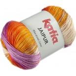 Jaipur 203 Naranja/Violeta