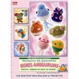 Mini crochet amigurumi poupées