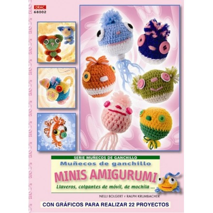 Muñecos de ganchillo mini amigurumis