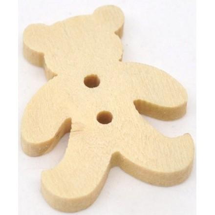 Wooden animals Button
