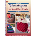 Oversized handbags crocheted and Point