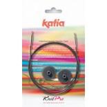 Kabel für auswechselbare Nadelspitzen KnitPro für Katia