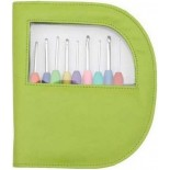 Set Crochet KnitPro Aluminum Handle Green