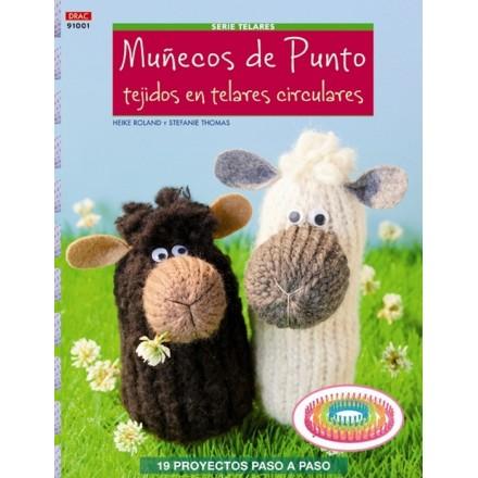 Poupées en tricot pour les métiers circulaires
