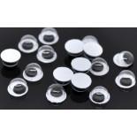 20 pièces Amigurumi yeux ronds 6 mm