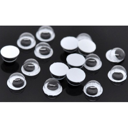 Amigurumi eyes round 6 mm