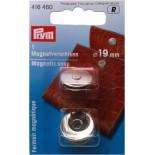 Prym fermeture magnétique 19 mm Chrome